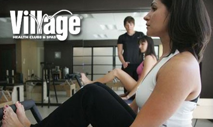 Village Health Clubs & Spas - Multiple Locations: $25 for a Two-Week Guided Fitness Program and One Month of Access to Gym & Facilities at Village Health Clubs & Spas ($325 Value)