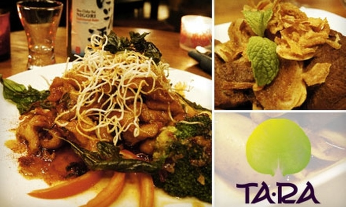 TaRa Restaurant - South Beach: $20 for $40 Worth of Thai Fare at TaRa Restaurant