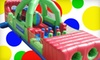 Zonkers Family Entertainment Center - The Great Mall: $12 for an Indoor-Theme-Park Outing with 4 Bounce-House Visits and 12 Game Tokens at Zonkers in Olathe ($23 Value)