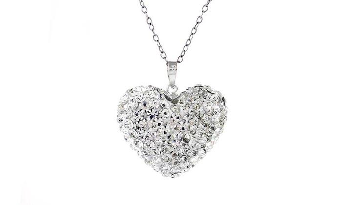 seleziona per genuino Il meglio del 2019 fabbricazione abile Collana Bubble Heart con SWAROVSKI ELEMENTS a 9,99 € (74% di sconto)