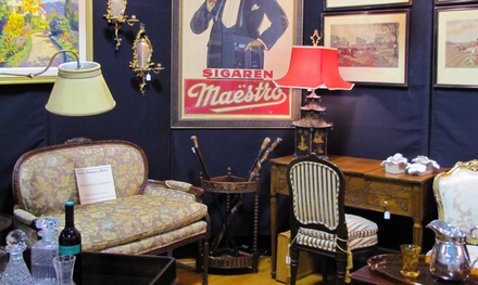 Admission for Two or Four to an Antique Show from Dordy Fontinel Show Management, Inc. (Up to 50% Off)