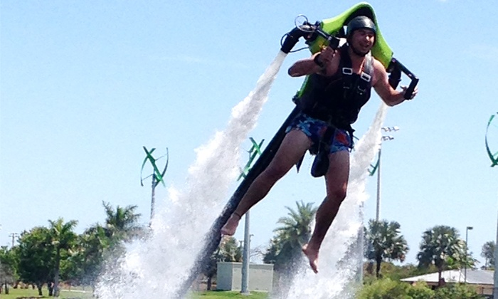 Rocketman - Multiple Locations: $109 for Half-Hour Jet-Pack Ride from Rocketman ($250 Value)