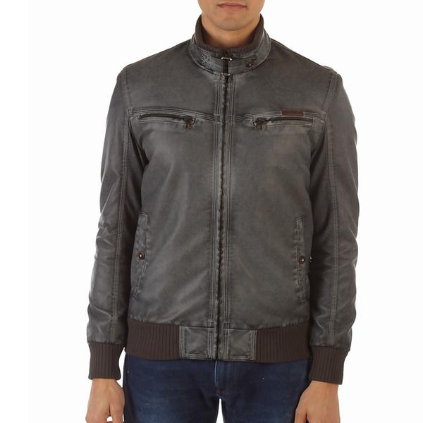 XrayJeans Patched Biker Jacket XMLJ-58021