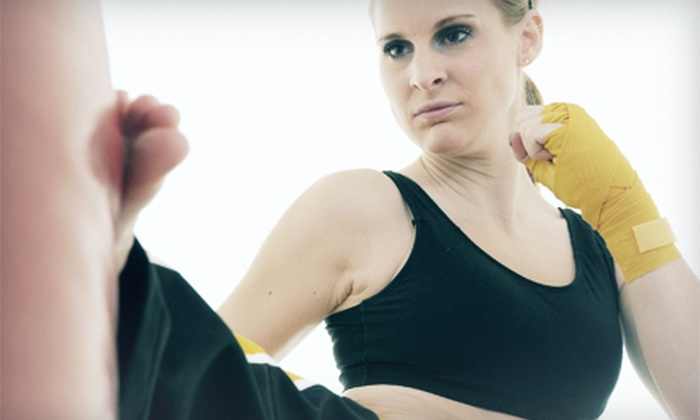 10th Planet Jiu Jitsu - El Paso: 8 or 16 Kickboxing and Self-Defense Classes at 10th Planet Jiu Jitsu (Up to 72% Off)