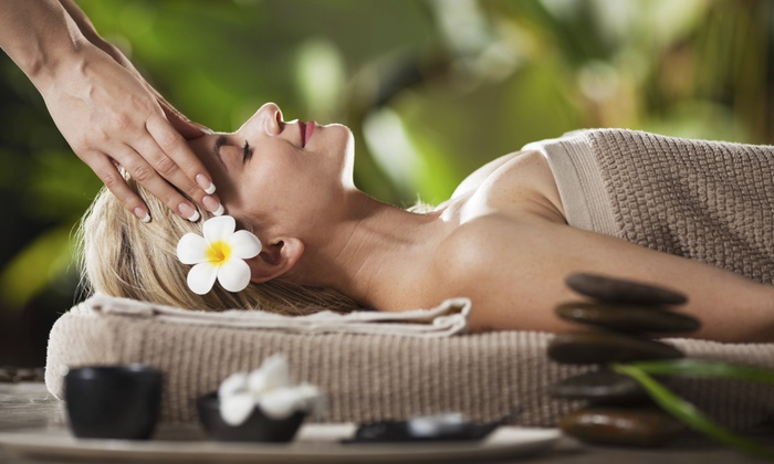 Massage by Kacy at The Little Spa - Jenks: 60-Minute Hot Stone Massage and Facial from Massage by Kacy (50% Off)