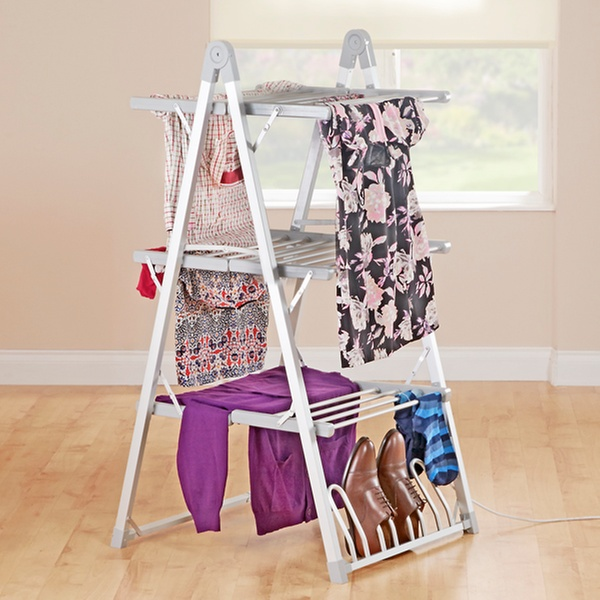 Maxi Dry Three Tier Heated Electric Clothes Airer for €109.99 With Free Delivery (24% Off)