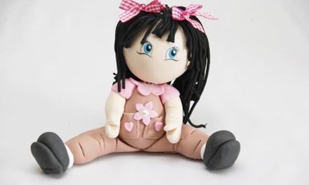 Curso de creación de figuras con goma eva o porcelana fría para una o dos personas
