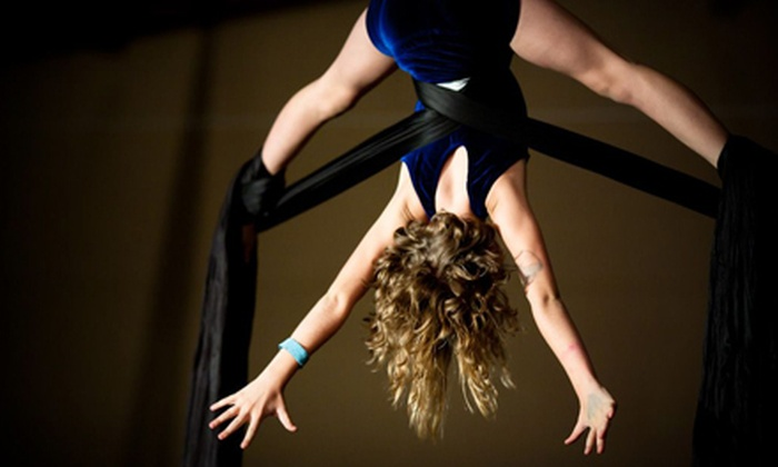 Tucson Circus Arts - Downtown Tucson: Two or Five Two-Hour Aerial-Silk Classes at Tucson Circus Arts (Up to 61% Off)