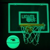 Lights-Off Glow in the Dark Mini Basketball Hoop