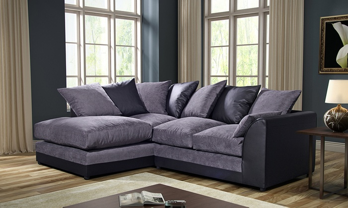 Byron Left Hand Or Right Hand Fabric Corner Sofa