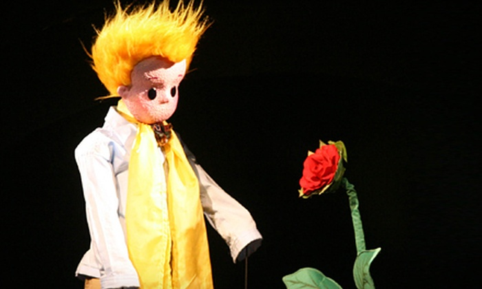 """The Little Prince"" - Jorgensen Center for Performing Arts: Kids' Theater Performance of ""The Little Prince"" for Two at Jorgensen Center for the Performing Arts on March 3"