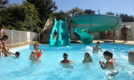 BrétignollessurMer : 2, 3 ou 7 nuits en mobilhome avec accès Spa au Camping Les Alouettes 4* pour 4 personnes