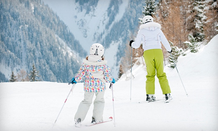 Lost Valley Ski Area - Auburn: One, Two, or Four Lift Tickets or Ski or Snowboard Lesson Package at Lost Valley Ski Area in Auburn (Up to 55% Off)