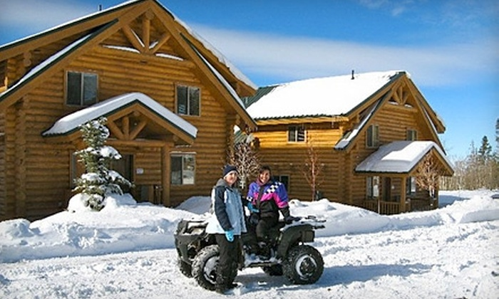 The Cabins at Bear River Lodge - Kamas: $299 for a Two-Night Stay and ATV Rental for Two at The Cabins at Bear River Lodge in Summit County (Up to $723 Value)