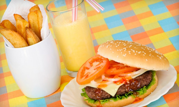 City Diner - South San Jose: $10 for $20 Worth of Casual American Fare at City Diner