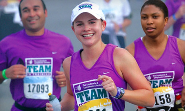 Team In Training - Mount Pleasant: $25 for Registration and Race Training from The Leukemia & Lymphoma Society of Canada's Team In Training ($100 Value)