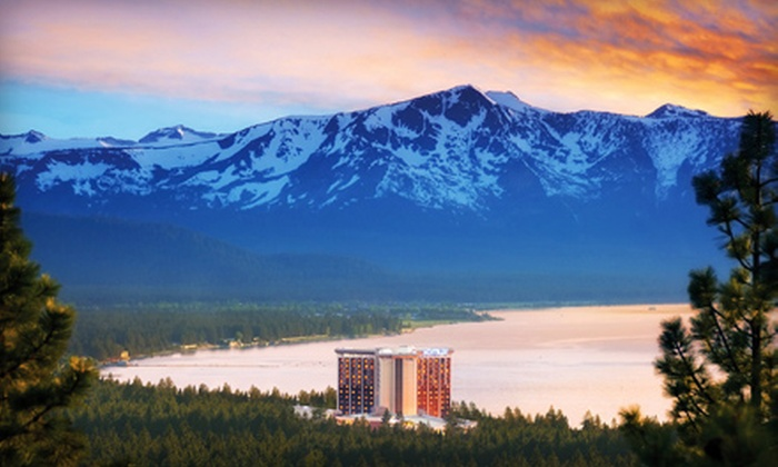 MontBleu - Stateline: Two-Night Stay for Two and Up to Two Kids in a Premiere Room at MontBleu Resort Casino & Spa in Nevada