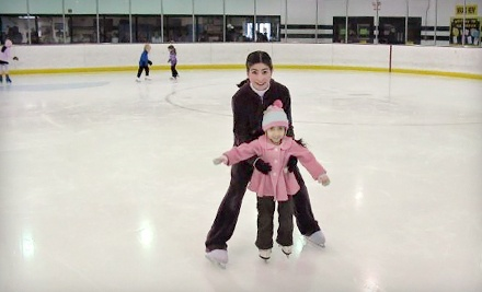 Admission and Skate Rental for 2 - Hampton Roads IcePlex in Yorktown