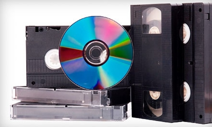 Chicago Producers - Tri-Taylor: $20 for 120 Minutes of VHS to DVD Conversion ($49 Value) at Chicago Producers