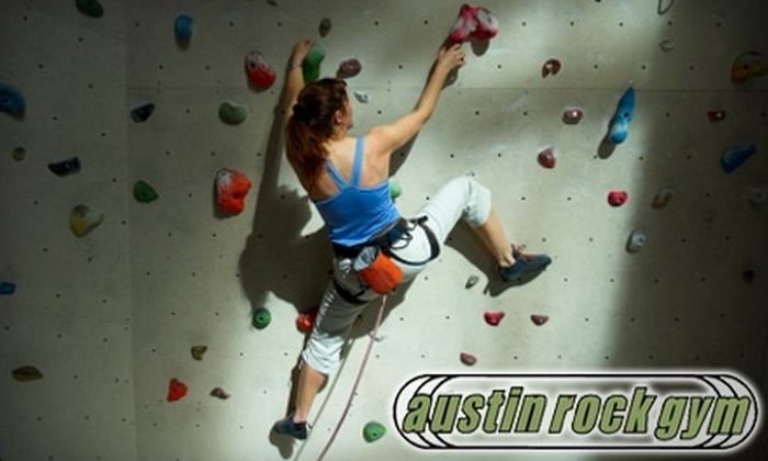 Austin Rock Gym - Multiple Locations: $5 for a Youth Day Pass ($10 Value), $8 for an Adult Day Pass ($15 Value), or $12 for a Belay-Training Course ($25 Value) at Austin Rock Gym