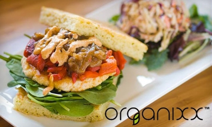 Organixx - LoDo: $9 for $18 Worth of Healthy Food and Drink at Organixx