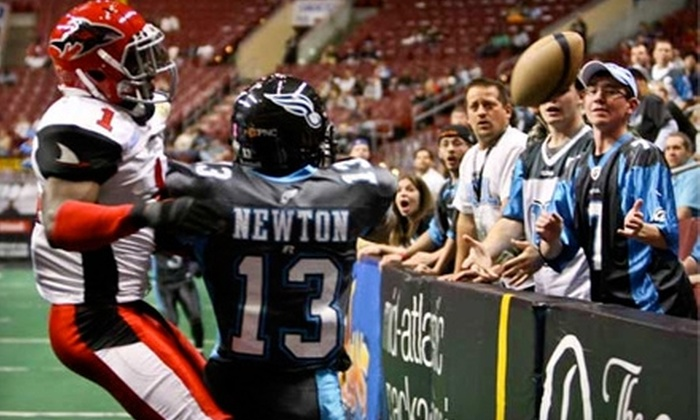 Philadelphia Soul - South Philadelphia East: $20 for One Sideline Seat, Plus Snack Voucher, at the Philadelphia Soul Football Game on Saturday, June 25 at 7:05 p.m. ($52.70 Value)