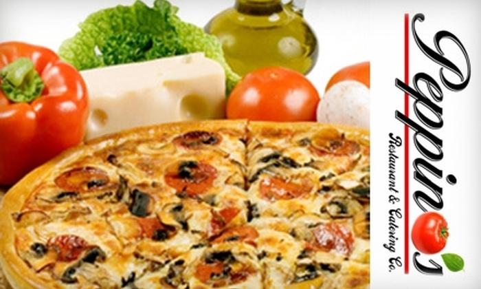 Peppino's Restaurant and Catering Company - Northside: $10 for $20 Worth of Pizza and Italian Fare at Peppino's Restaurant and Catering Company