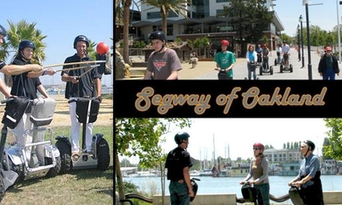 Segway of Oakland - Merritt: $25 for a Three-Hour Segway Lesson and Tour at Segway of Oakland ($55 Value)