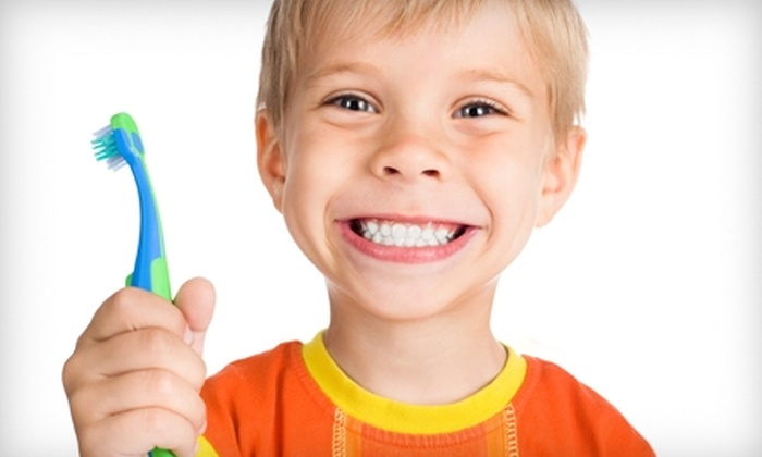 Coastal Kids Dental & Braces - Multiple Locations: $79 for Children's Exam, X-Rays, Teeth Cleaning, and Fluoride Treatment at Coastal Kids Dental & Braces ($370 Value)