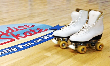 Roller Skating for Two or Four at Paradise Skate Roller Rink (Up to Half Off)