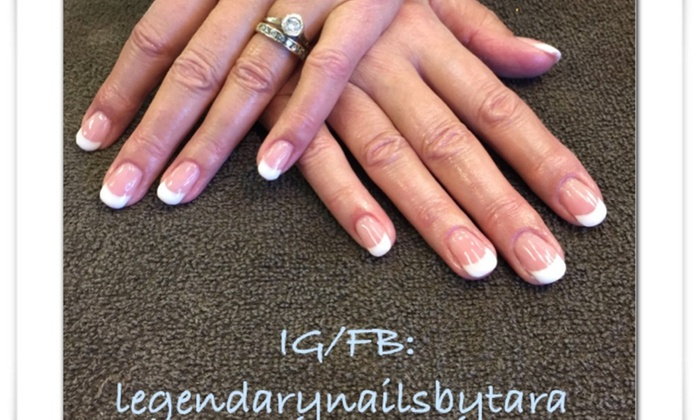 Legendary Nails By Tara - Plumgate: A No-Chip Manicure from Legendary Nails By Tara (49% Off)