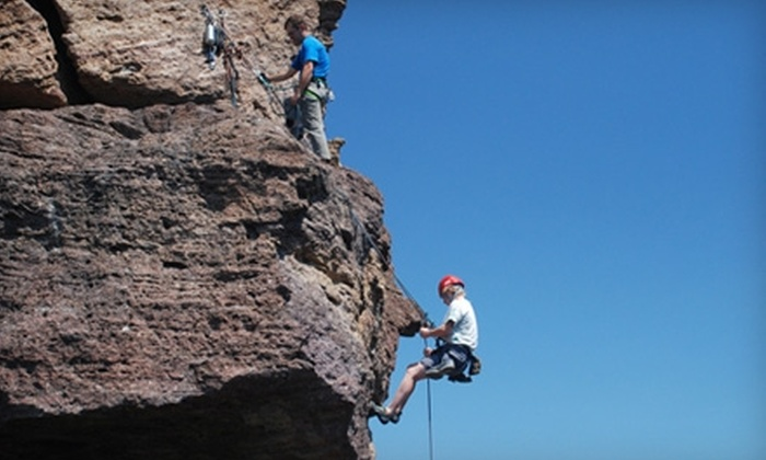 First Ascent Climbing Services - Terrebonne: $42 for Half-Day Rock Climbing Clinic from First Ascent Climbing Services ($85 Value)