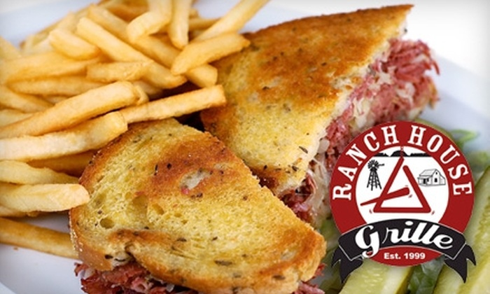 Ranch House Grille - Ingleside Club: $10 for $20 Worth of Breakfast, Burgers, and More at Ranch House Grille