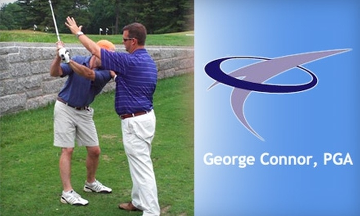 Academy of Golf at Gillette Ridge - Bloomfield: $55 for Two One-Hour Private Golf Lessons with George Connor, PGA, at Academy of Golf at Gillette Ridge ($200 Value)