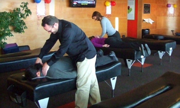 Café of Life - Denver: $37 for Chiropractic Exam, X-rays, and 60-Minute Massage at Café of Life in Boulder (Up to $209 Value)