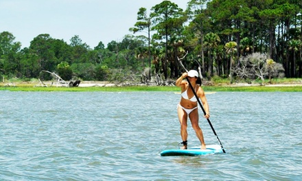 One-Hour Paddleboard Lesson and Rental for One or Two from East Coast Paddleboarding (Up to 50% Off)