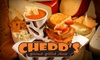 Chedd's Gourmet Grilled Cheese - Downtown: $7 for $14 Worth of Fare at Chedd's Gourmet Grilled Cheese