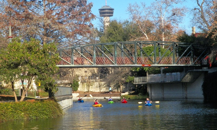 Texas Pack and Paddle - Fort Worth: Two-Hour Mission Reach/Downtown Kayak Tour for One or Two from Texas Pack & Paddle (Up to 58% Off)