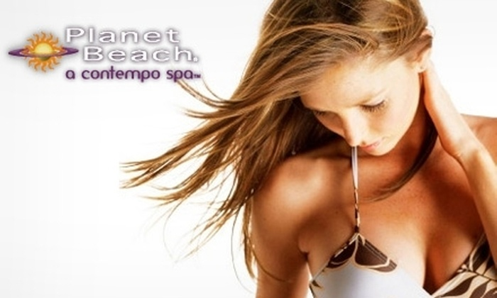 Planet Beach Contempo Spa - Multiple Locations: $20 for One Week of Spa Services at Planet Beach Contempo Spa (Up to $250 Value)