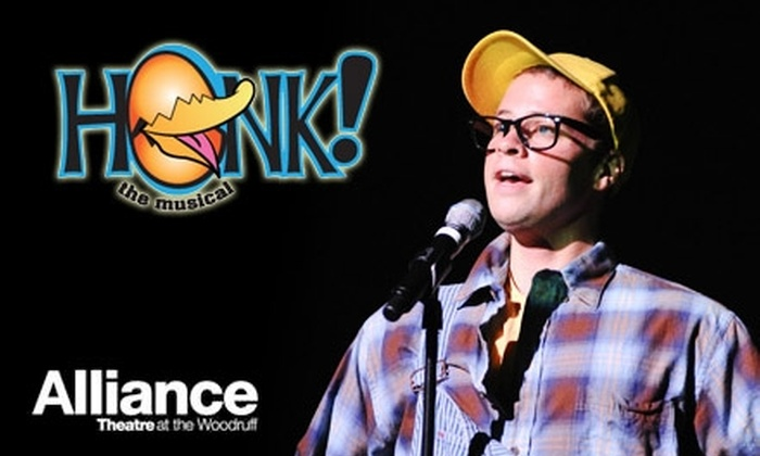"Alliance Theatre - Atlanta: $18 for Adult or Child Ticket to the Alliance Theatre's ""Honk!"" at the Woodruff (Up to $37.40 Value). Six Performances Available."