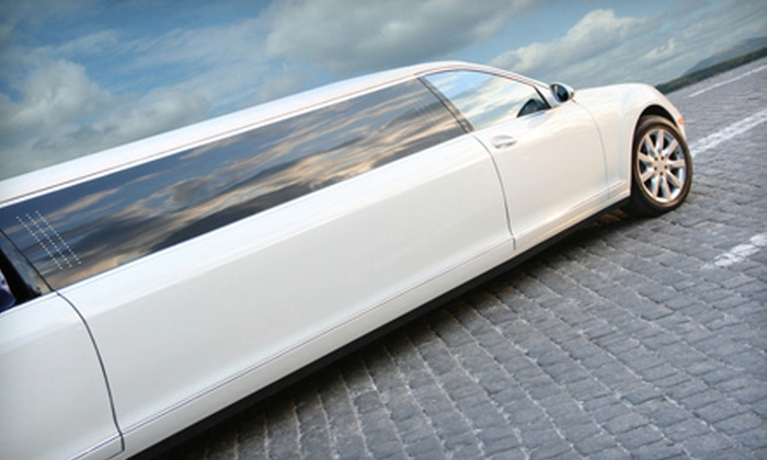 About Time Limousines - Sacramento: $160 for a Four-Hour Limo Trip or Wine-Tasting Tour for Up to Eight from About Time Limousines ($320 Value)