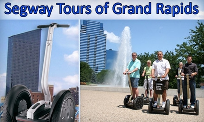 Segway Tours of Grand Rapids - Heartside-Downtown: $35 for a One-Hour Segway Tour of Downtown from Segway Tours of Grand Rapids ($75 Value)