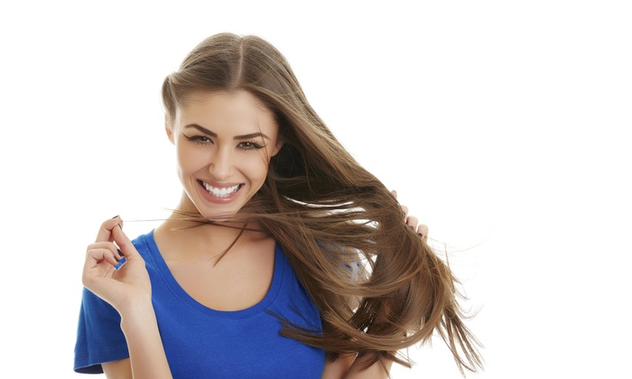 Juciey Hair - Chatham: Color, Highlights, and Blow-Dry from Juciey Hair (47% Off)