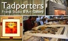 Tadporters - Collierville: $45 for $100 Worth of Custom Framing at Tadporters Frame Studio & Art Gallery