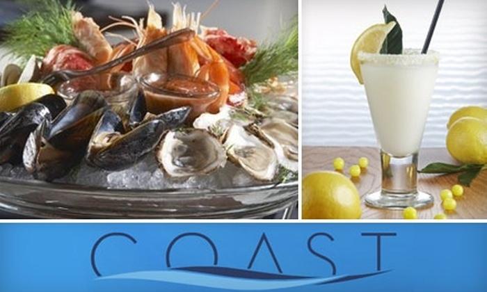 Coast Global Seafood - Plano: $20 for $40 Worth of Delectable Seafood and More at Coast Global Seafood