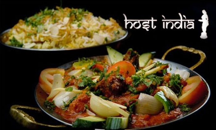 Host India - Cummings: $15 for $30 Worth of Indian Dinner Fare at Host India