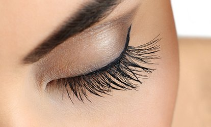 image for Eyelash Extensions with Optional Brow Wax and Tint from Fabulous Nails & Beauty Salon (Up to 58% Off)