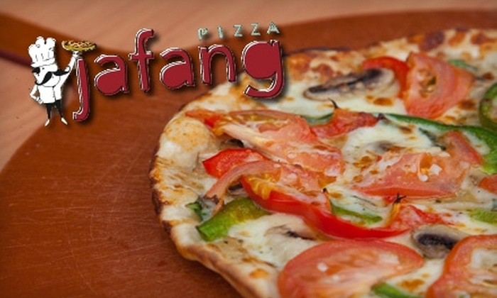 Jafang Pizza - University: $10 for $20 Worth of Pizza, Drinks, and More at Jafang Pizza in Riverside