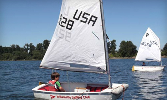 Willamette Sailing Club - Corbet - Terwilliger - Lair Hill: $49 for a Two-Hour Sailing Basics Course from Willamette Sailing Club ($100 Value)