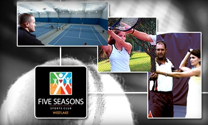 Five Seasons Family Sports Club - Westlake: $35 for a Six-Week Tennis Program Plus Full Club Access at Five Seasons Family Sports Club in Westlake